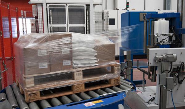 Imballaggio Pallet