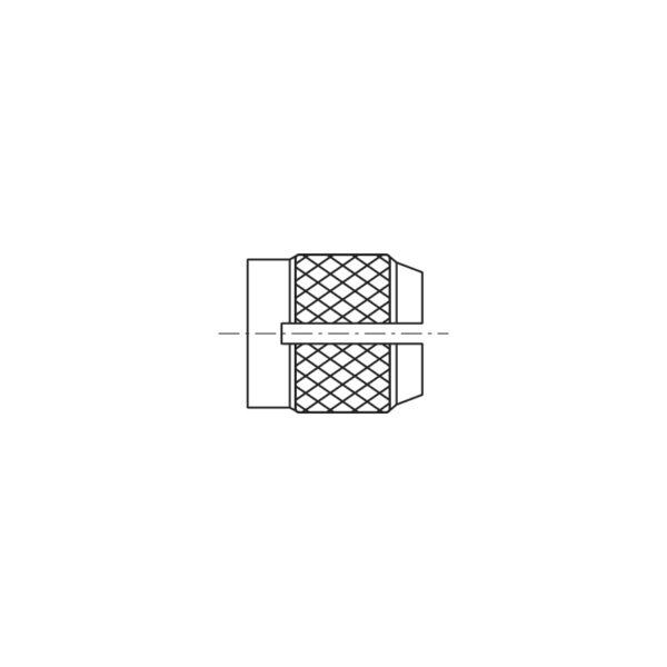Inserti filettati per materie plastiche ad espansione