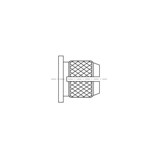Inserti filettati per materie plastiche a testa cilindrica ad espansione