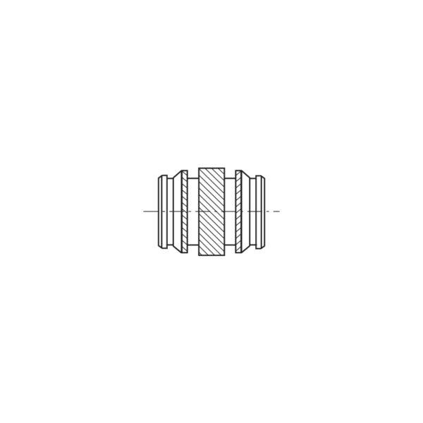 Inserti filettati per materie plastiche ad inserimento Termico o Ultrasuoni - Serie lunga