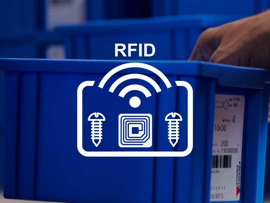 Kanban Just in time RFID